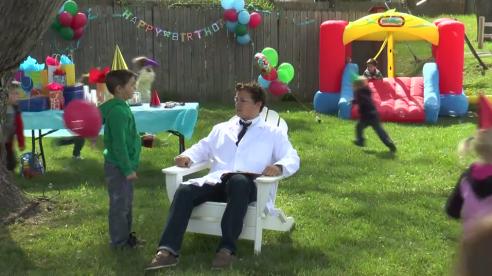 birthday party test
