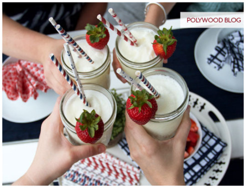 Enjoying Pina Coladas at POLYWOOD (POLYWOOD Blog)