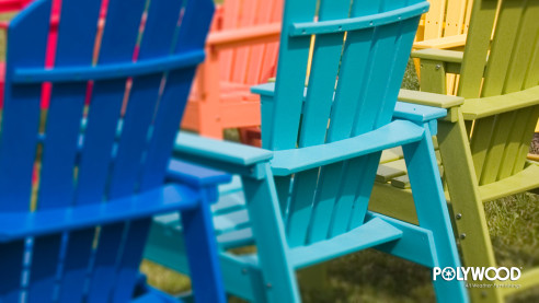 Summer Desktop Background Polywood-MutiColored_Adirondacks