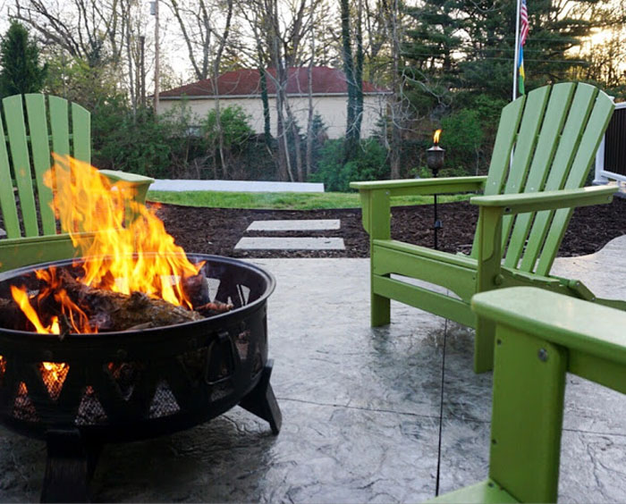 Erin-Living-in-Yellow-POLYWOOD-Adirondacks-Firepit