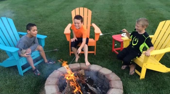 Kids-Smores-Adirondack-Set-POLYWOOD