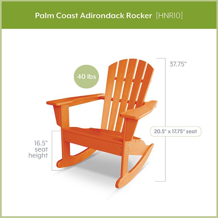 POLYWOOD-HNR10-Palm-Coast-Adirondack-Rocker
