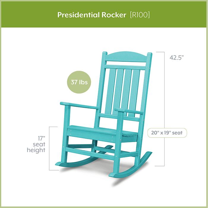 POLYWOOD-R100-Presidential-Rocker