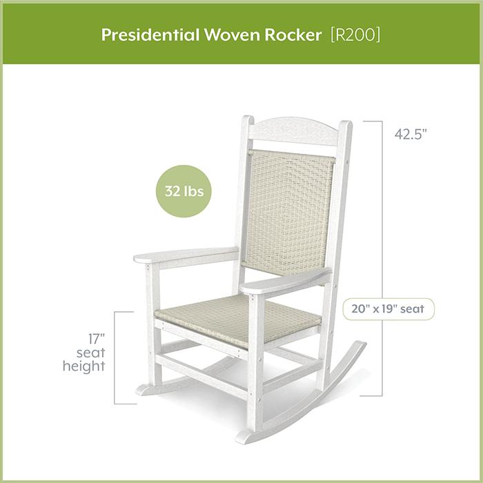 POLYWOOD-R200-Presidential-Woven-Rocker